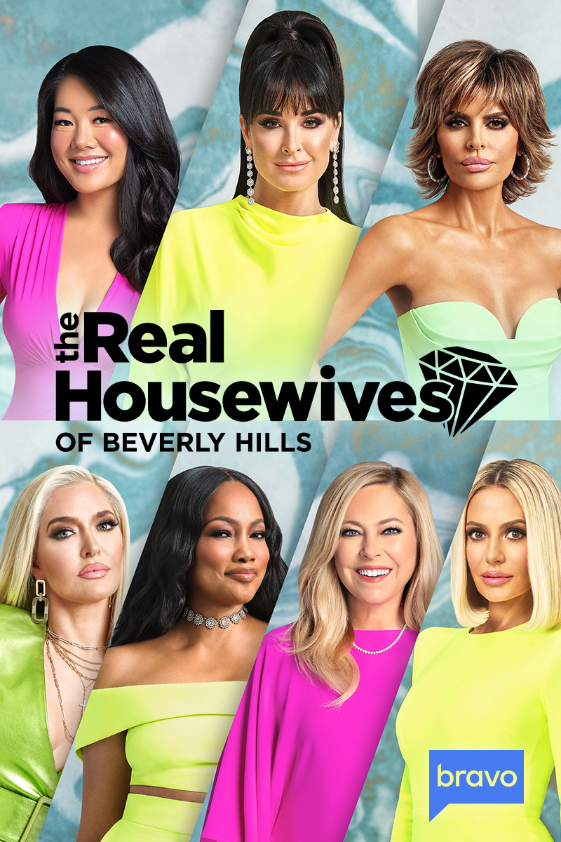 "cover design for ""The Real Housewives of Beverly Hills"""