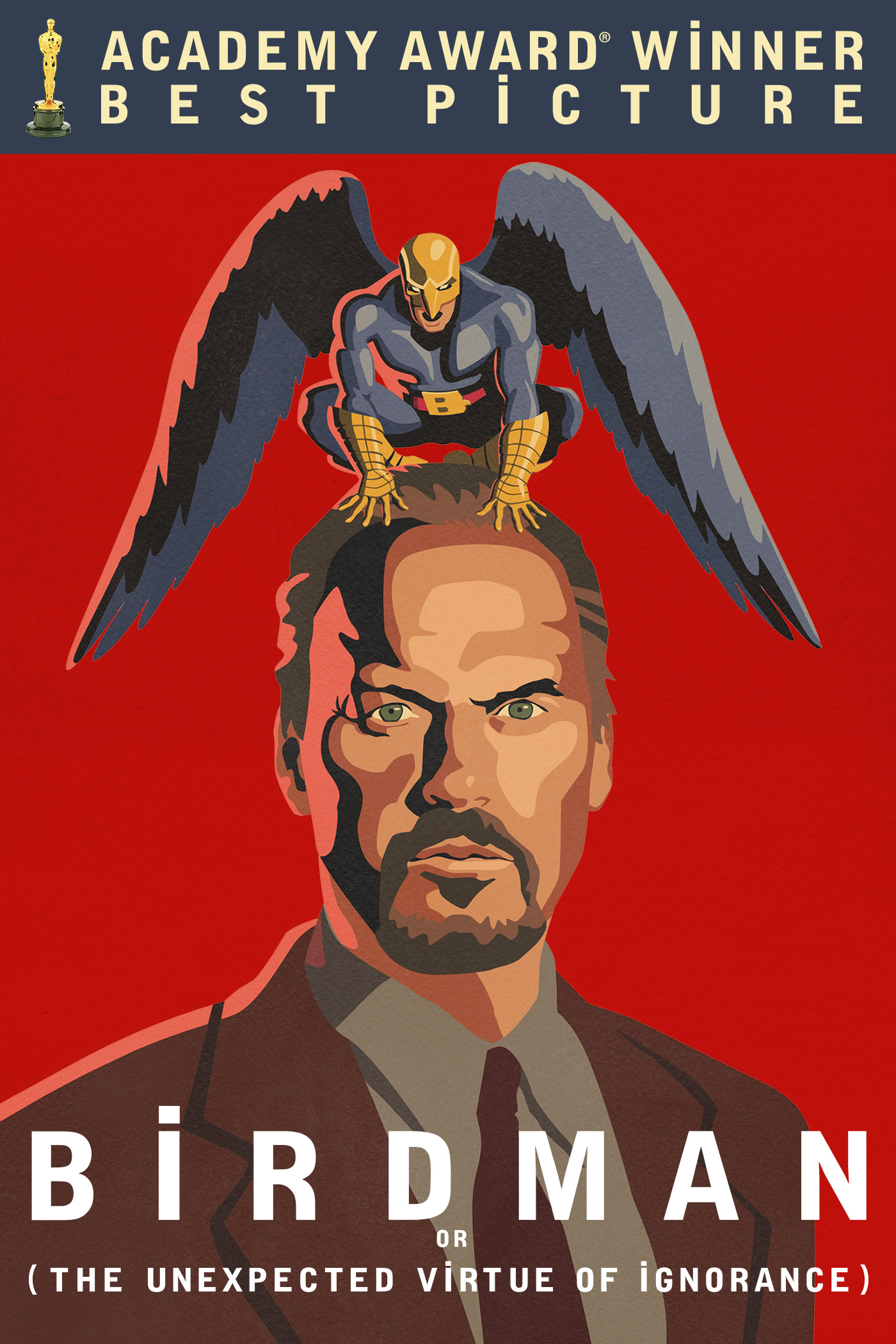 "cover design for ""Birdman"""