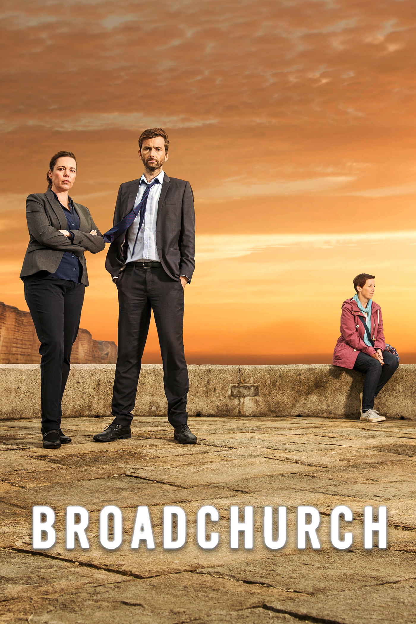"cover design for ""Broadchurch"""