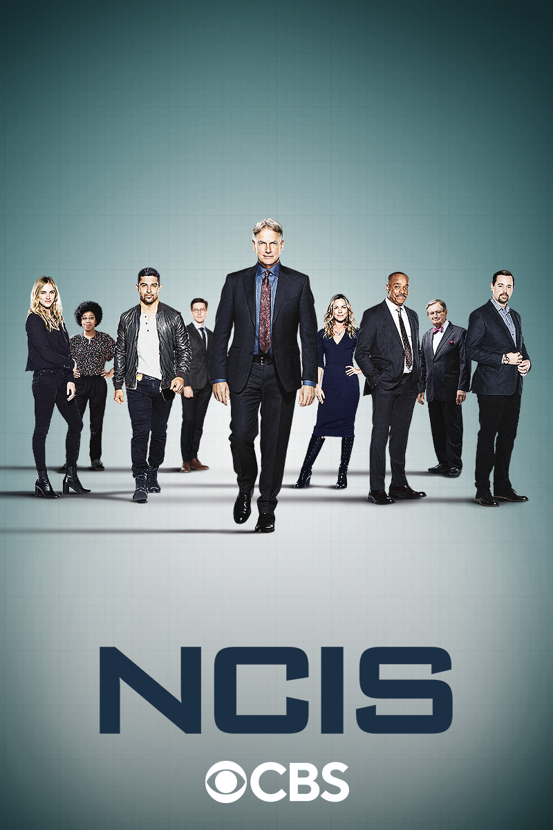 "cover design for ""NCIS"""