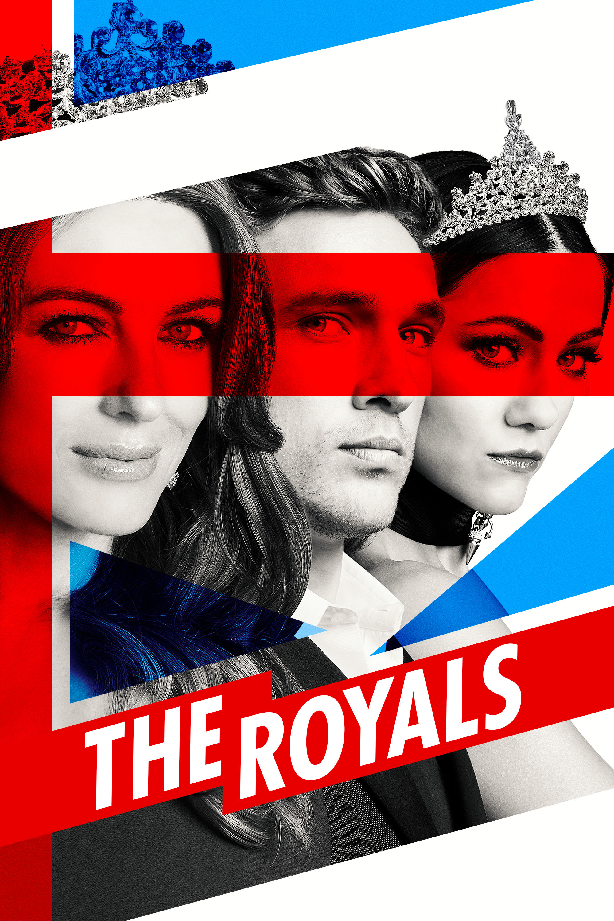 "cover design for ""The Royals"""
