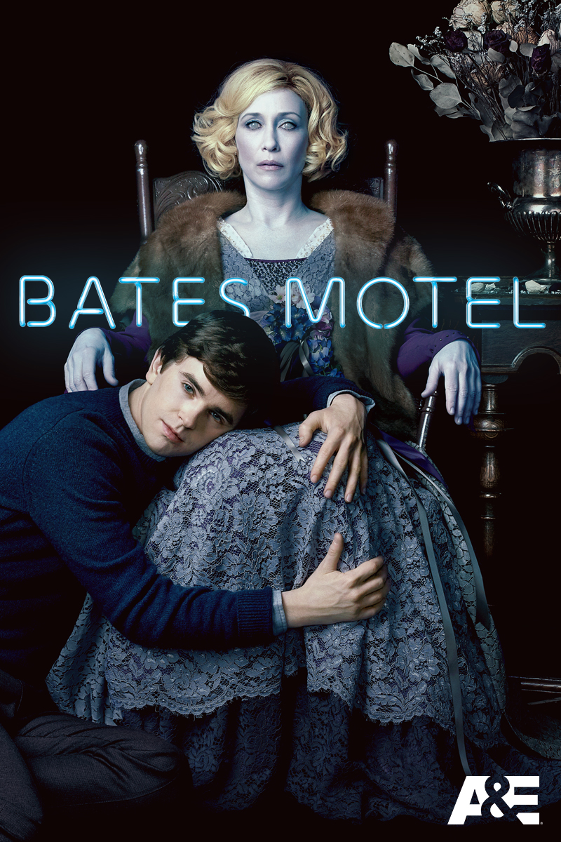 "cover design for ""Bates Motel"""