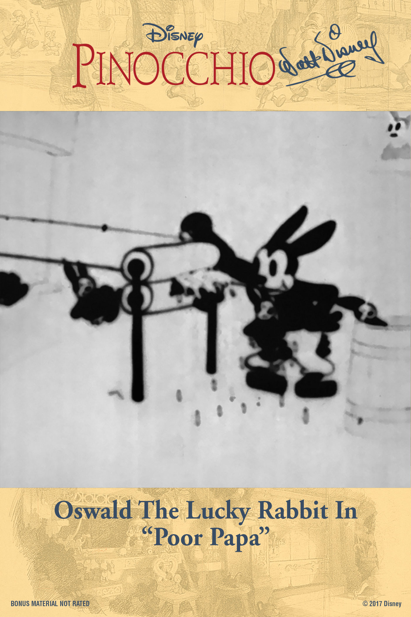 """Oswald the Lucky Rabbit In """"Poor Papa"""""""